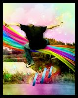 Magic of Skateboard by caglarsasmaz