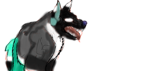 Burrow as a wolf ... what have I done by Moracalle