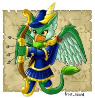 Neopets- Eyrie Day Entry by cartoonist