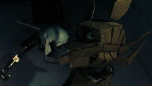 Five Nights at Freddy's inspired stopmotion models by underdog01