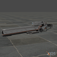 Sanctum 2 Sniper Rifle for XPS by SaltPowered