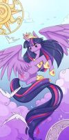 Twilight Sparkle by Cinnamoron