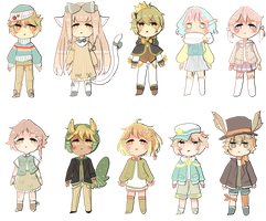 OTA more random adoptables by beltzane