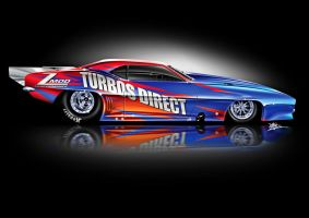 Turbos Direct Drag Car by Signalxb