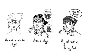 Style comparison/practice by Divin-Almasy