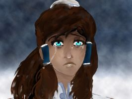 Legend Of Korra -Tears by Wolfeternity