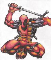 Deadpool by ThatArtKid