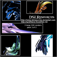 Large C4d Renders Pack 2 by DSLresources