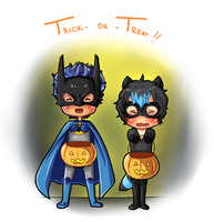 [PCH] Trick-Or-Treat! by banANNUmon