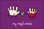 my magic hands by sooperdave