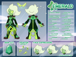 Emerald Character Sheet by iPhysik