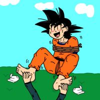 Goten Tickled by jonbubble