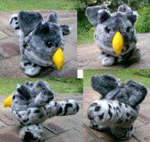 Snow leopard gryphonball by Rahball