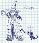KoS Mage and Familiar Concept by Dragoshi1