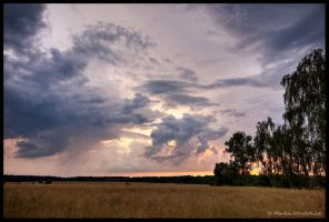 June Thunderstorm II by Haufschild