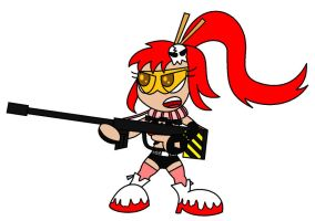 Yoko's Got a Gun by AleximusPrime