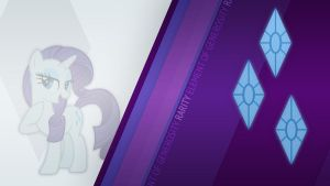 Rarity CM Wallpaper by Bardiel83