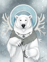 Inuit Bear by CunningFox