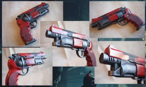 Blade Runner Blaster, Red by KillingjarStudios