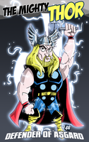 The Mighty Thor by geogant