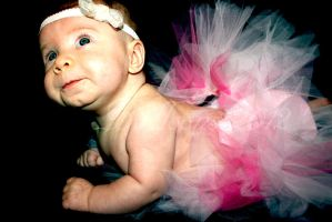 Tutus and hairbows by balloons
