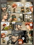 snake and meryl with wii 01 by kokecit