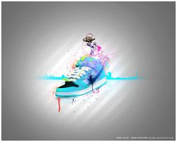 nikedunks by lostgfx
