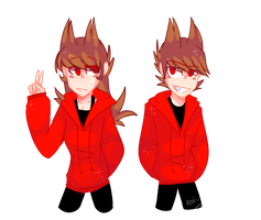 [SpeedPaint] Tori and Tord by HuiRou