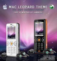 Mac Leopard for Sony Ericsson by sammuss
