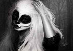 White Skull by cciintra