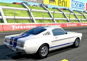 1966 fastback Shelby Mustang GT350 by whendt