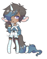 LXVIII Sailor Unicorn {Set Price} CLOSED by Koru-Adopts