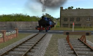 Ffarquhar yard crossing by bonjourmonami
