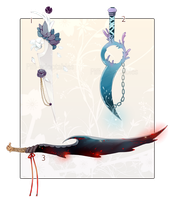 [CLOSED ] ADOPT AUCTION 105 - Weapon by Piffi-adoptables