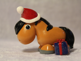 Christmas Pony (Buckskin) for SALE by AnimalisCreations