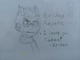 Eridan for Camma :) by GuineaPig103