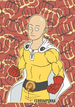 One punch man! by FerrumPenna