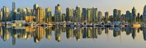 Vancouver Waveform Panorama (72MP) by Bielousov