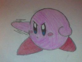 Kirby by neeneejoy