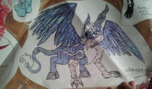 Dragle OC inner form (old) by BlueBRogue