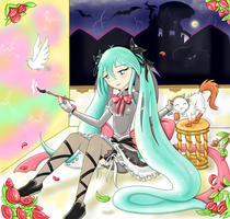 Miku Our Fortia 2: A Dream land into the Storm by RocketLaramie
