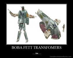 Boba Fett Transformers Toy by Onikage108