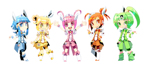 Genderbent Smile Precure! by Shiro-N