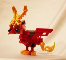 Bionicle MOC: Phoenix Chick by Rahiden