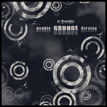 Double Grunge Circles by DieheArt