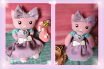 Pudding Plushie: Lolita Kitten by Pippin-chan