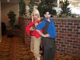 NDK2012 - Miguel and Tulio by TaintedTamer
