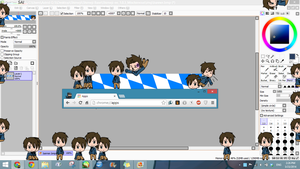 Shimeji :: Bavaria (Hetalia OC) {UPDATE} by skipper2820