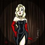 The Cabaret Lady by M16Tronaz