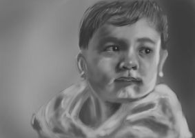 Portrait of a Nephew by floopate